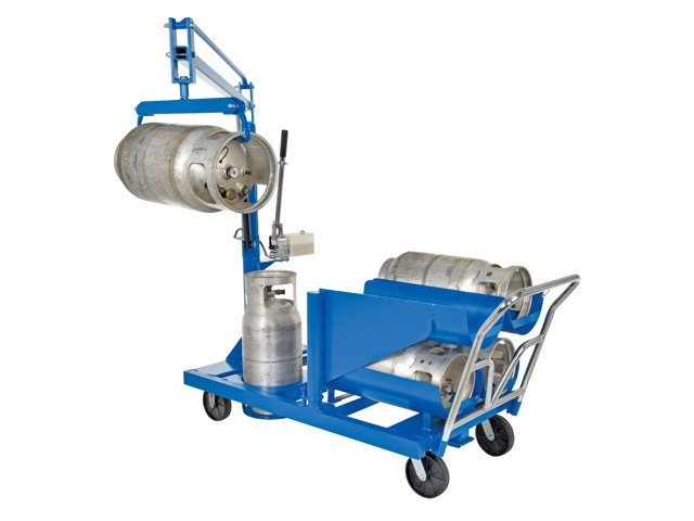 Gas Cylinder Carts And Dollies Usasafety Com