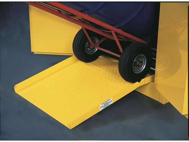 Drum Ramp For Justrite Flammable Drum Storage Cabinets