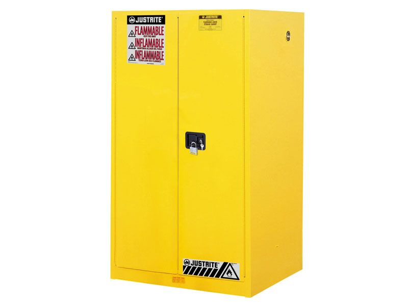 60 Gallons   Manual Close   Flammable Storage Cabinet